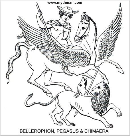 MYTH MAN\'S BELLEROPHON PAGE